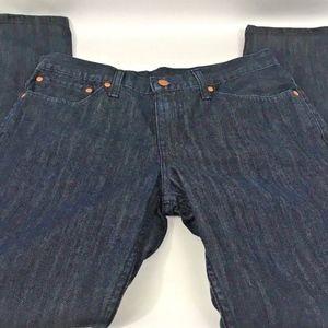 Men's Levis 511 Dark Wash Slim Straight Jeans